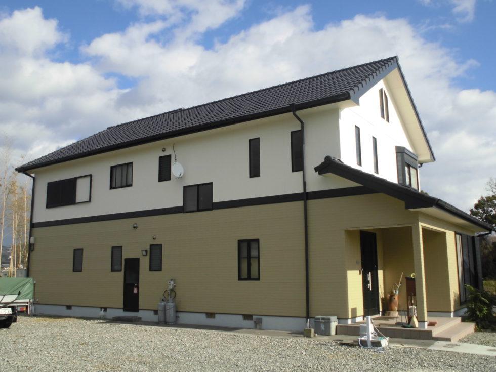 福崎町 F様邸 屋根外壁塗装工事