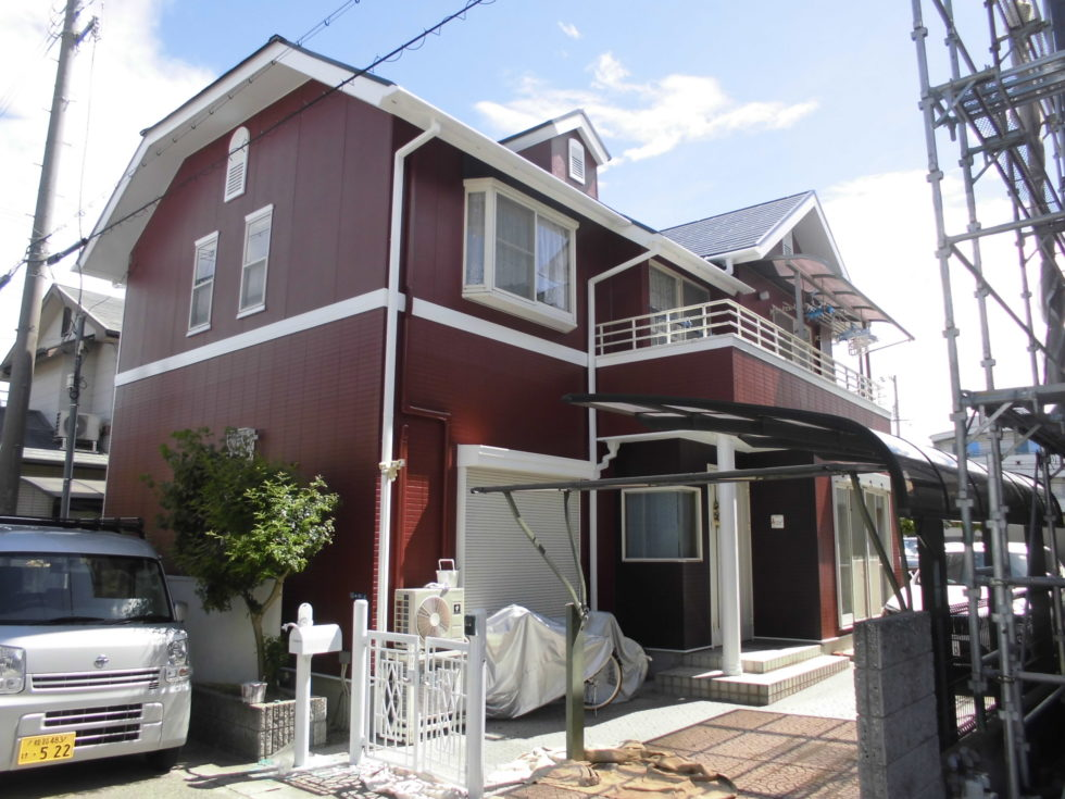 姫路市田寺 KM様邸屋根外壁塗装工事