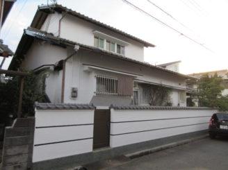 姫路市網干区 K様邸外壁塗替え工事