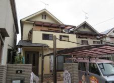 姫路市別所町 H様邸 屋根外壁塗替え工事