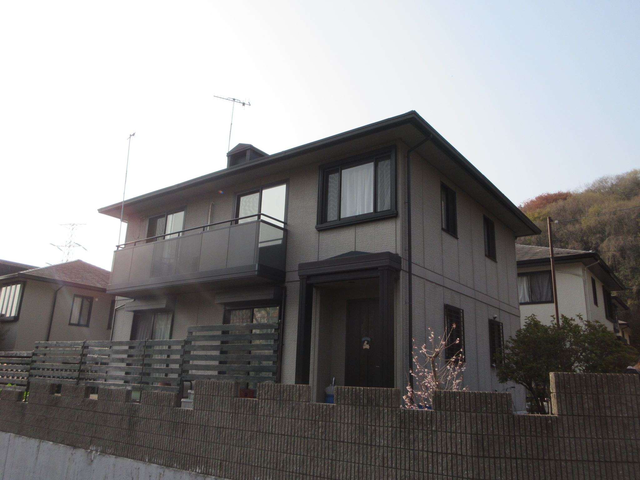 姫路市別所町 K様邸外壁塗装工事