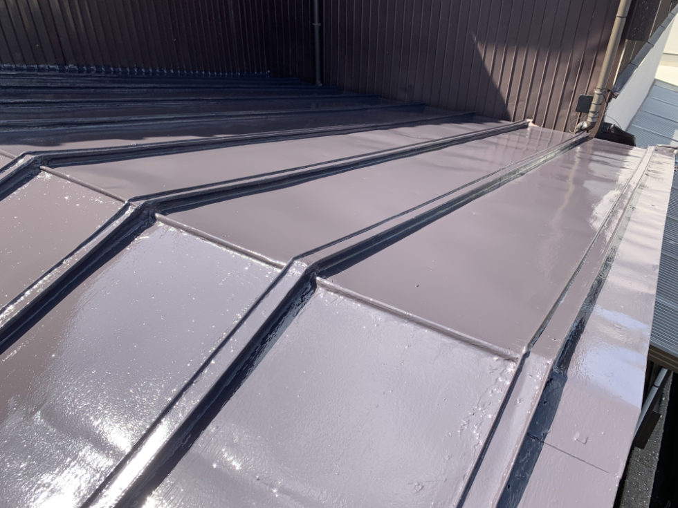 姫路市飾磨区 M様邸 屋根塗装工事