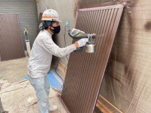 姫路市高砂市の吹き付け工法とは?外壁塗装での吹き付け工法についてご紹介します!